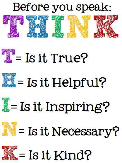 thinkbeforeyouspeak