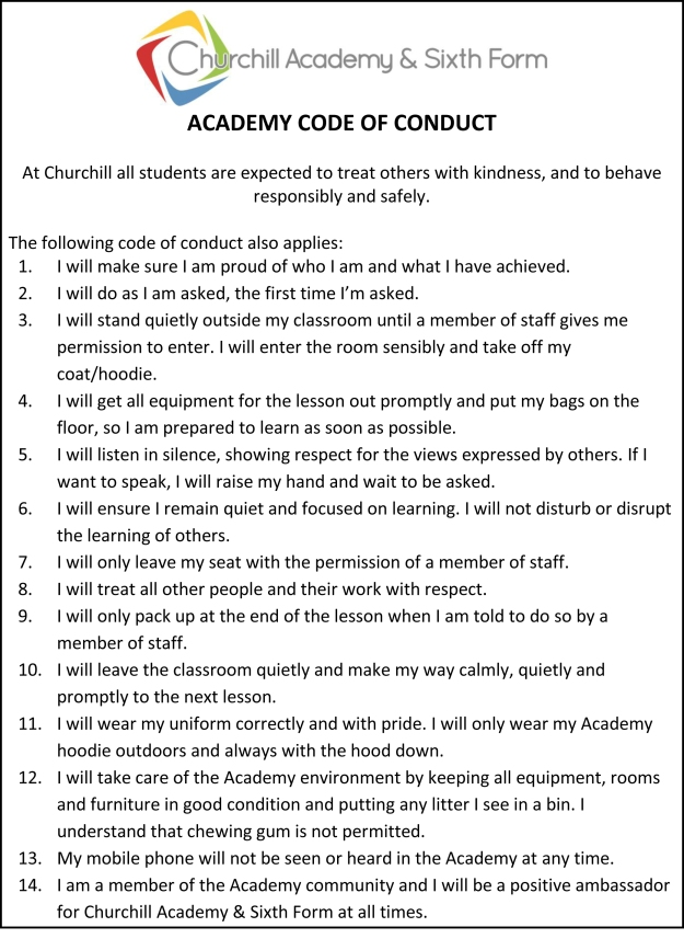 ACADEMY CODE OF CONDUCT final-1