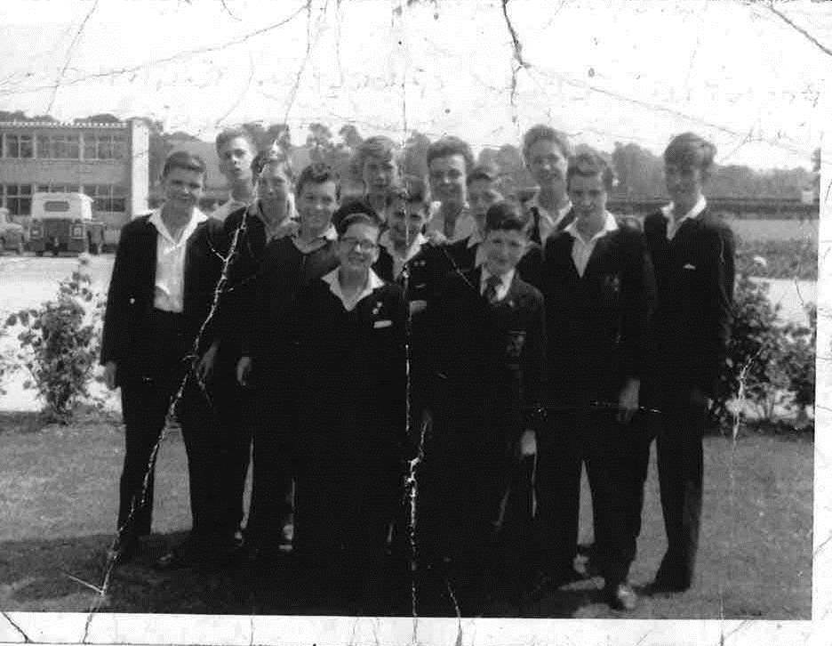 Andrew Frappel - boys pic 1958