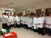 Bristol Uni Chem Lab visit - Jan 2018