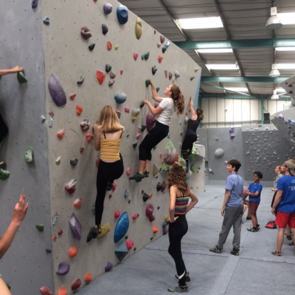 Climbing Tues 2