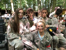 Y9 Paintballing (1)