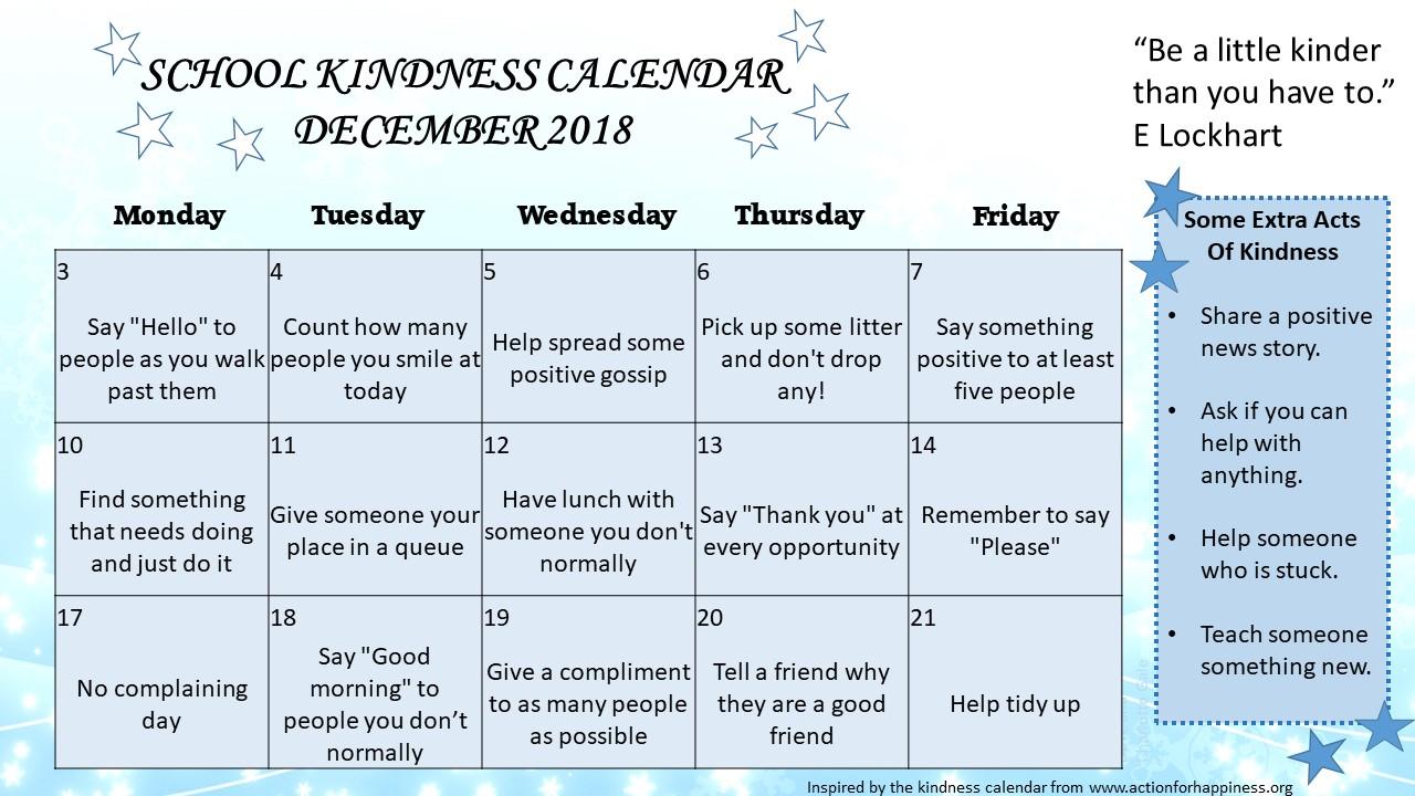 kindnesscalendar