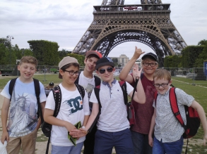 Paris lads