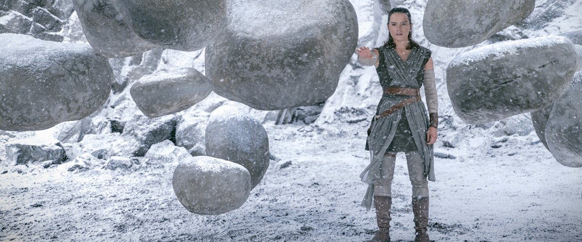rey lifting rocks